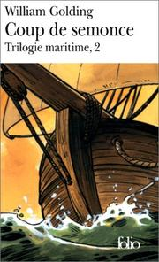 Cover of: Trilogie maritime, tome 2: Coup de semonce