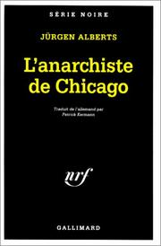 Cover of: L'Anarchiste de Chicago