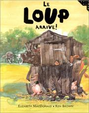 Cover of: Le loup arrive!