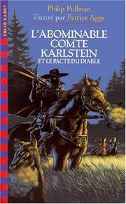 Cover of: L'abominable comte Karlstein et le pacte du diable