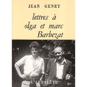 Cover of: Lettres à Olga et Marc Barbezat