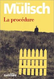 Cover of: La Procédure