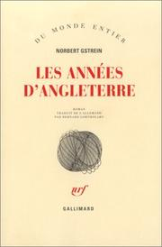 Cover of: Les Années d'Angleterre