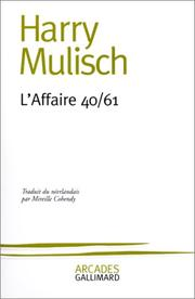 Cover of: L'Affaire 40/61