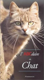 Cover of: L'ABCdaire du chat