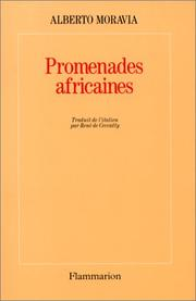 Cover of: Promenades africaines