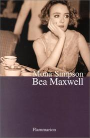 Cover of: Bea Maxwell