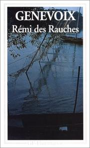 Cover of: Rémi des Rauches