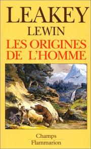 Cover of: Les Origines de l'Homme