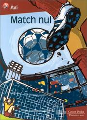 Cover of: Match nul