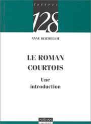 Cover of: Le roman courtois