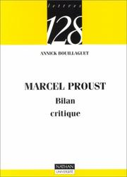 Cover of: Marcel Proust
