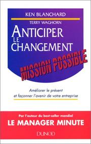 Cover of: Anticiper le changement