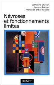 Cover of: Névroses et fonctionnements limites
