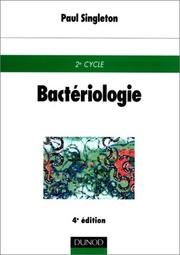 Cover of: Bactériologie
