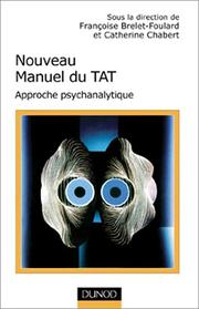 Cover of: Nouveau manuel du T.A.T.