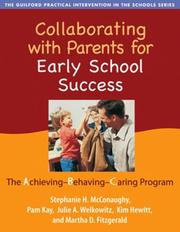 Cover of: Collaborating with Parents for Early School Success