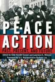 Cover of: Peace Action
