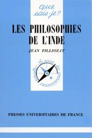 Cover of: Les Philosophies de l'Inde
