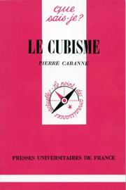 Cover of: Le Cubisme