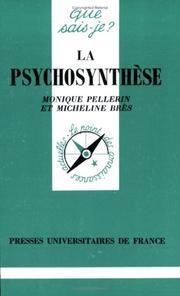 Cover of: La Psychosynthèse