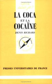 Cover of: La Coca et la Cocaïne