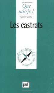Cover of: Les Castrats