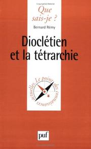 Cover of: Dioclétien et la Tétrarchie