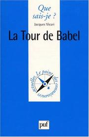 Cover of: La Tour de Babel