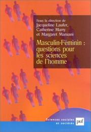 Cover of: Masculin-féminin