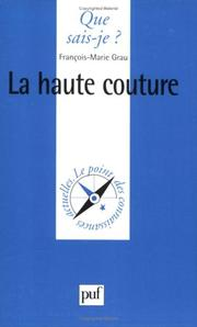 Cover of: La Haute Couture