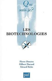 Cover of: Les Biotechnologies