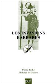 Cover of: Les invasions barbares: 4. éd.  Mise à jour.
