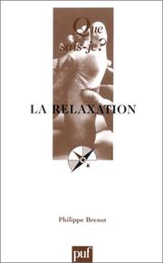 Cover of: La relaxation