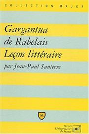 Cover of: Gargantua de Rabelais