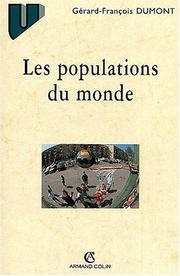 Cover of: Les populations du monde