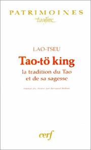 Cover of: Tao-tö king