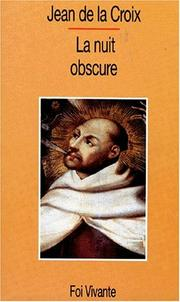Cover of: La nuit obscure