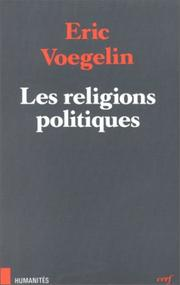 Cover of: Les Religions politiques