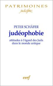Cover of: Judéophobie