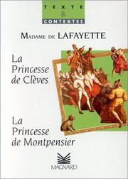 Cover of: La princesse de Montpensier (1662)