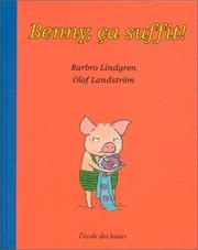 Cover of: Benny, ça suffit !