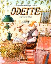 Cover of: Odette. Un printemps à Paris