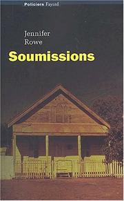 Cover of: Soumissions