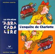 Cover of: L'Enquête de Charlotte