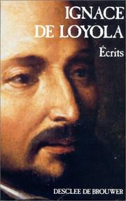 Cover of: Ecrits