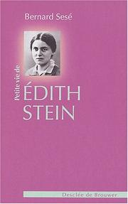 Cover of: Petite Vie d'Edith Stein
