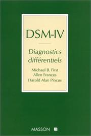 Cover of: DSM-IV