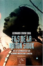Cover of: Fils de la nation sioux