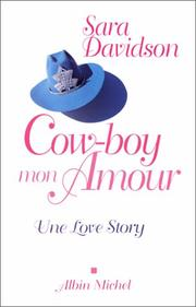 Cover of: Cowboy, mon amour